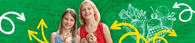 5 crèmeries éclatées à essayer cet été