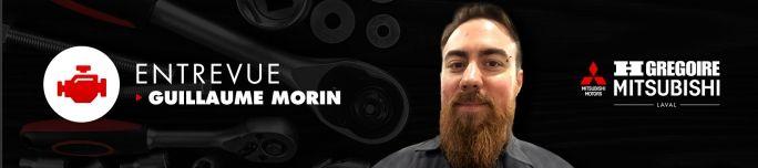 Rencontrez Guillaume Morin, mécanicien certifié Maître Triple Diamant Mitsubishi
