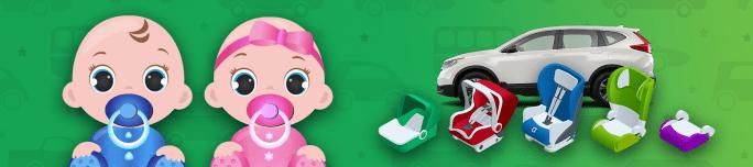 Comment bien choisir son siège d'auto pour bébé.
